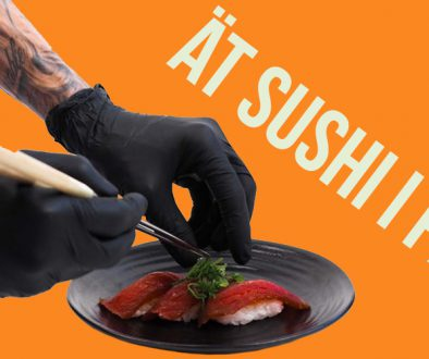 Ät sushi i påsk nyheter
